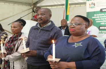 King Cetshwayo District commemorates World Aids Day in Melmoth