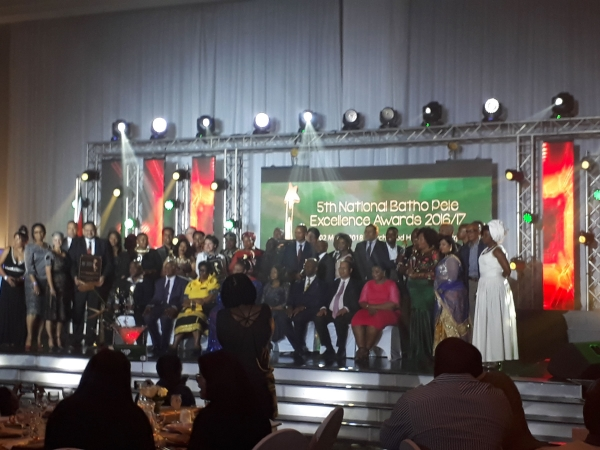 NATIONAL BATHO PELE EXCELLENCE AWARDS